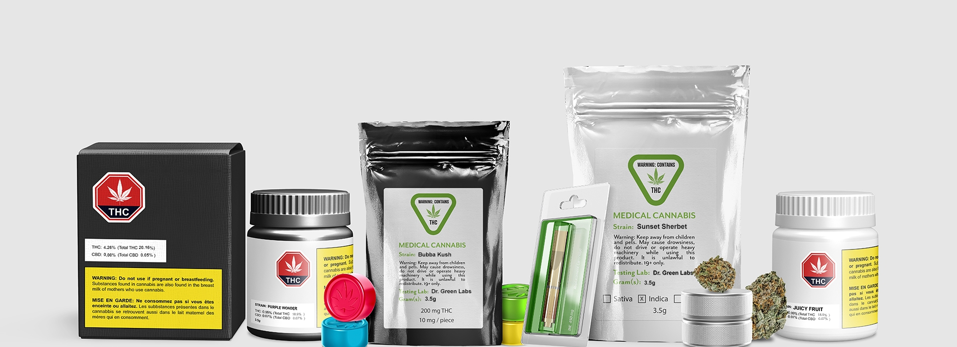 cannabis-label-products
